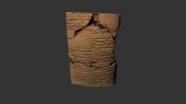 Cuneiform (Old Babylonian) Tablet, ca. 2000 BCE 3D Model