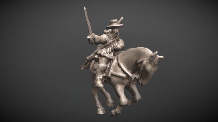 Dragoon (30-Years-War) 3D Model