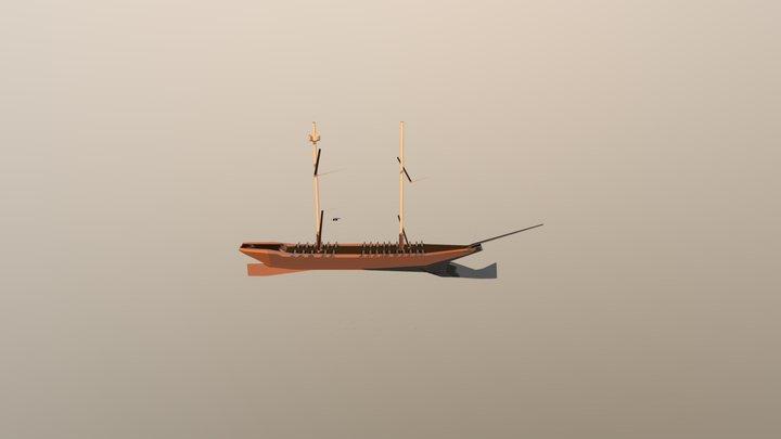 Ship Update 3D Model