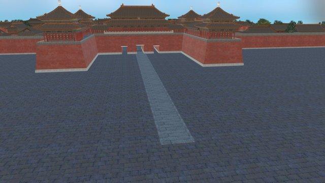 紫禁城 3D Model