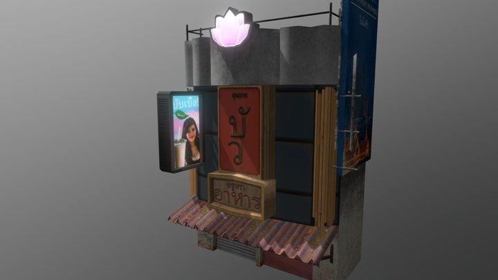 Bangkok Thailand cityscene building A 3D Model