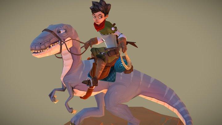 Jurassic Explorer 3D Model