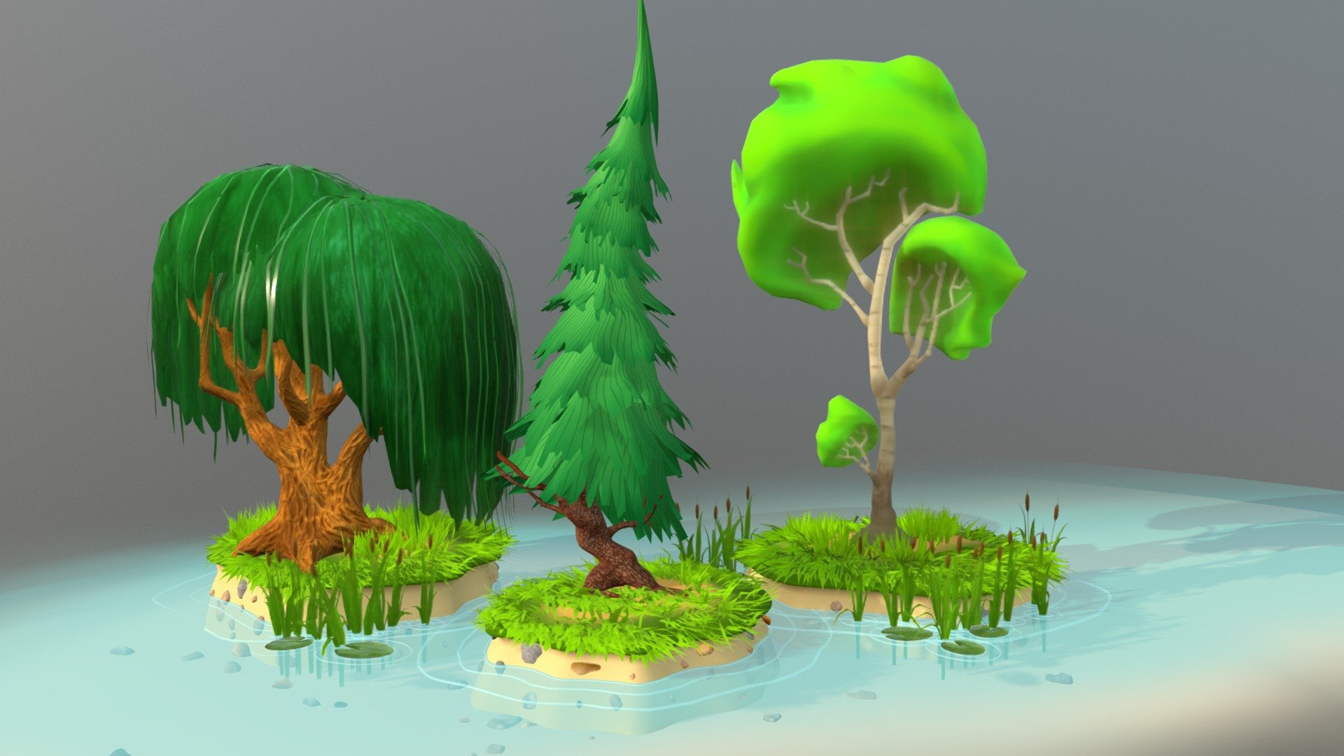 3 Cartoon Tree Buy Royalty Free 3d Model By Sanya Laneev Lansvision2 9414ff9 Sketchfab Store The author of this item is geoimages (no.301699). 3 cartoon tree buy royalty free 3d