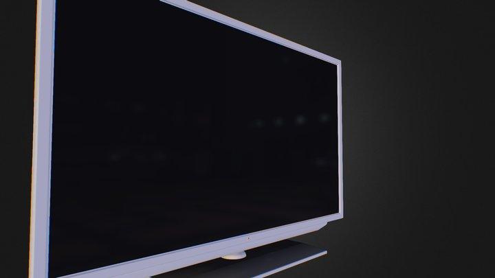 5674_X1_TV 3D Model