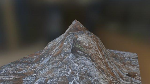 3 Mountain Low 3D Model