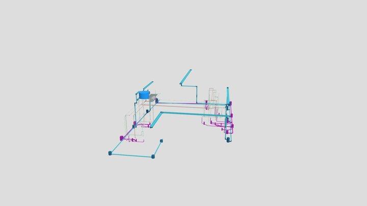 Sistema Hidrossanitário-Junior 3D Model