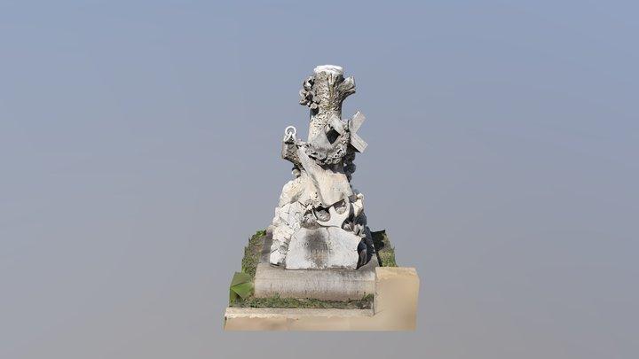 Oakland Cemetery - Edward Kiser 3D Model
