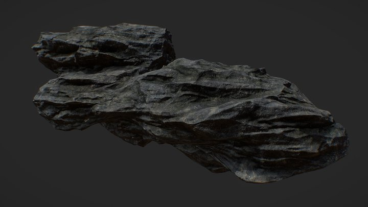 Cliff trainee 3D Model