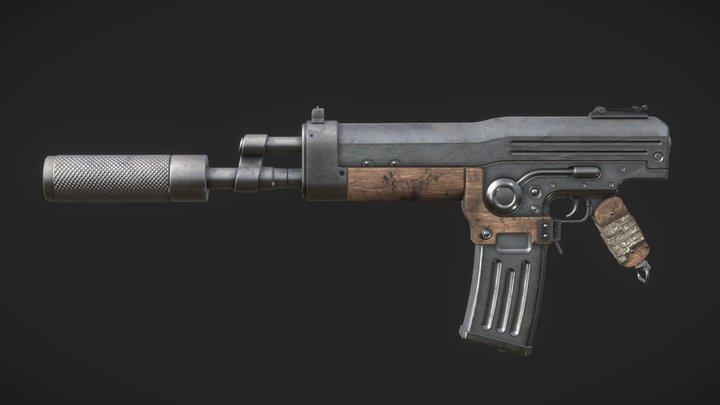 💣 Dieselpunk Weapons 3D Model