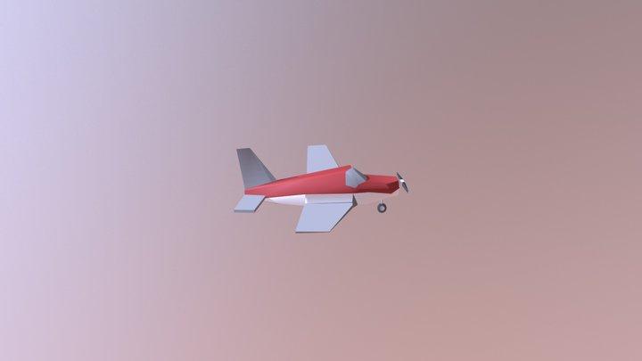 Piper PA-28 3D Model