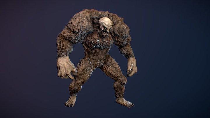 Diablo II Wendigo 3D Model