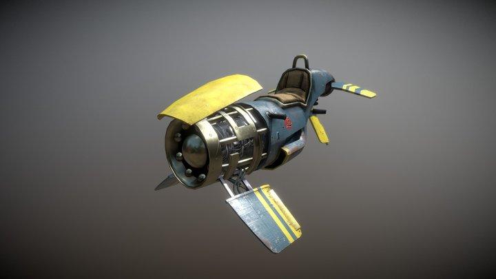 Zoomer 3D Model