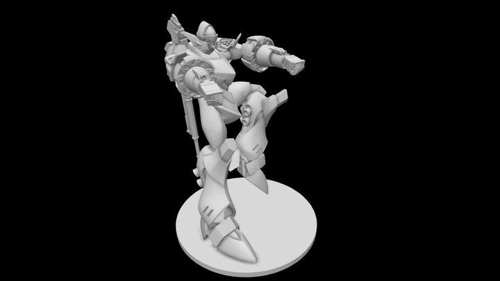 Bullet Hell Ascalon Alpha 3D Model