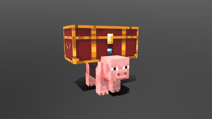 Loot Pig 3D Model