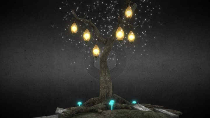 Magical Tree 3D Model