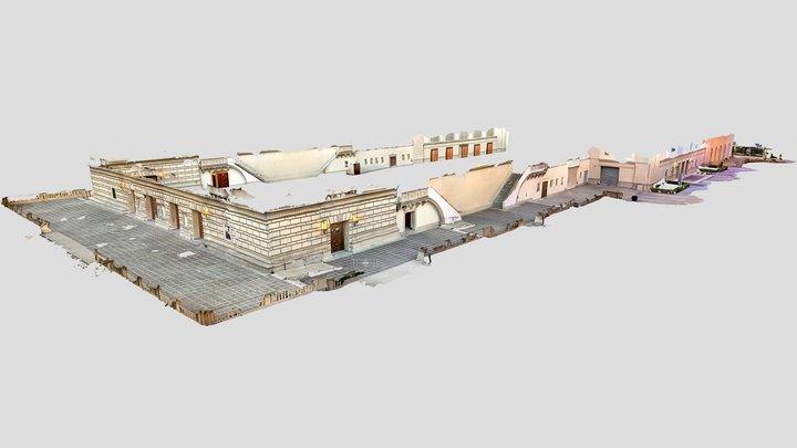 Pasadena auditorium - massive iPad LiDAR capture 3D Model