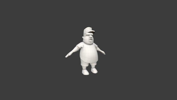 IT Guy 3D Model