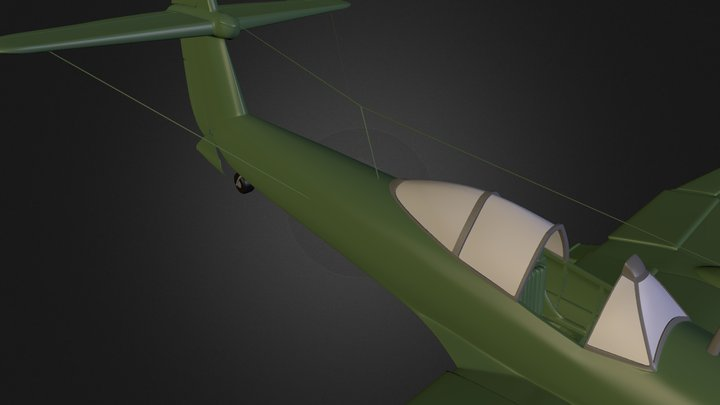 Westland Whirlwind 3D Model