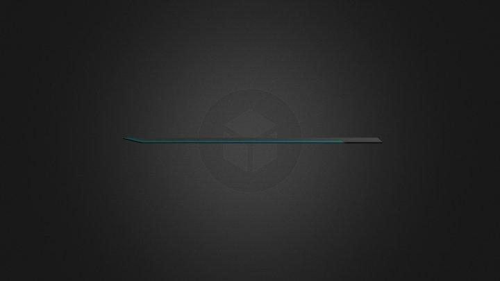 Electro Sword - WIP 3D Model