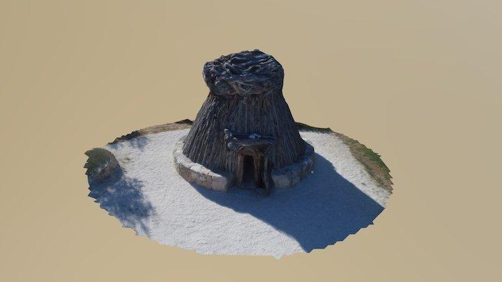 Su Pinnettu, Urzulei 3D Model