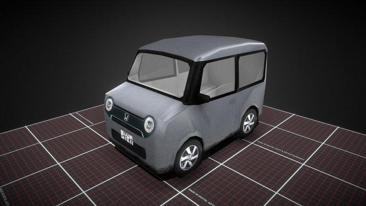 Kei_Car_Individual_Export 3D Model