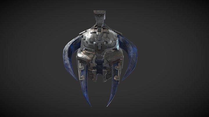 Giant's Helmet 3D Model