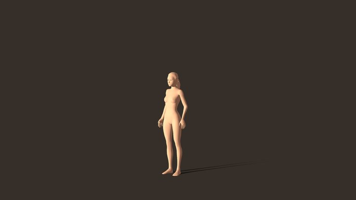Test Muscles Joints For Game Engines 3D Model