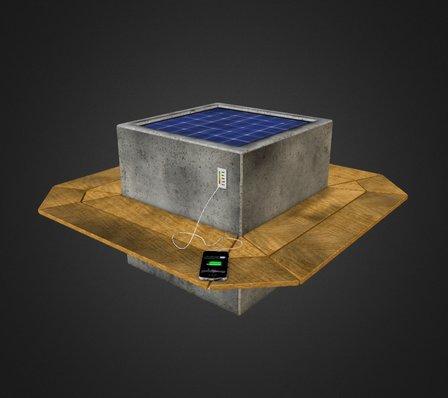 SolarCube 3D Model