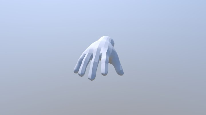 Low_Poly_Hand 3D Model
