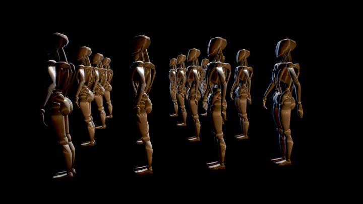 WoCybo 3D Model