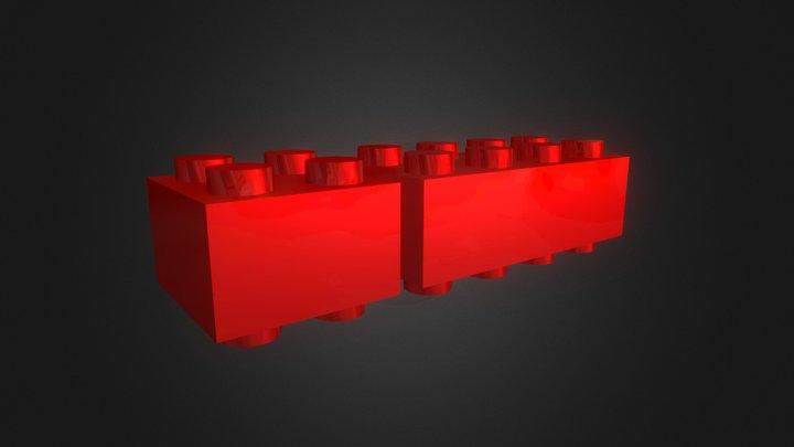 Trick Lego 3D Model