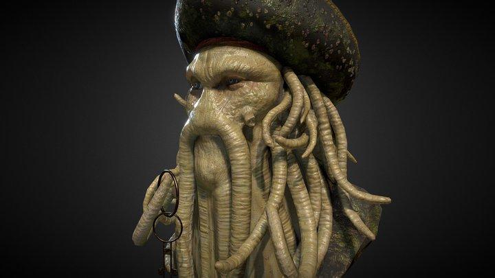 "Davy Jones - Pirati dei Caraibi"" - Fabio Nuzzo 3D Model"