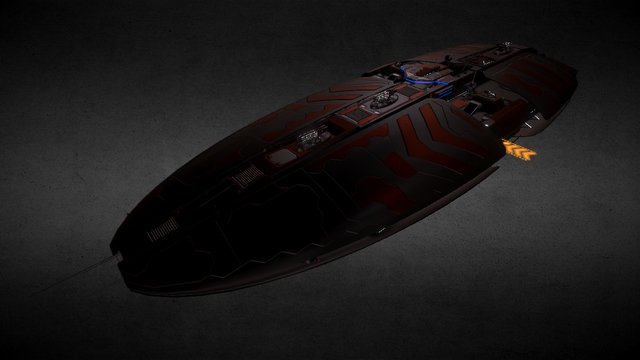 Aurora Class Battleships 3D Model