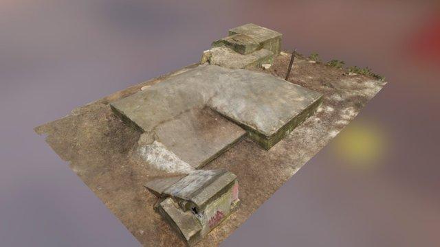 """Luftschutzbunker """"An der Schule"""" 3D Model"""