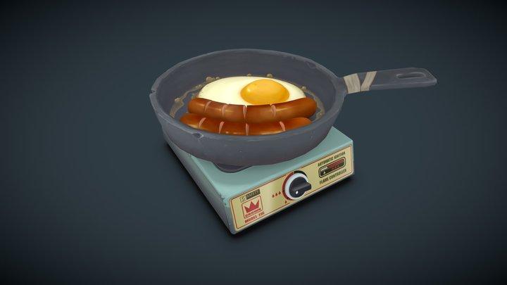 Egg Jiggle 3D Model