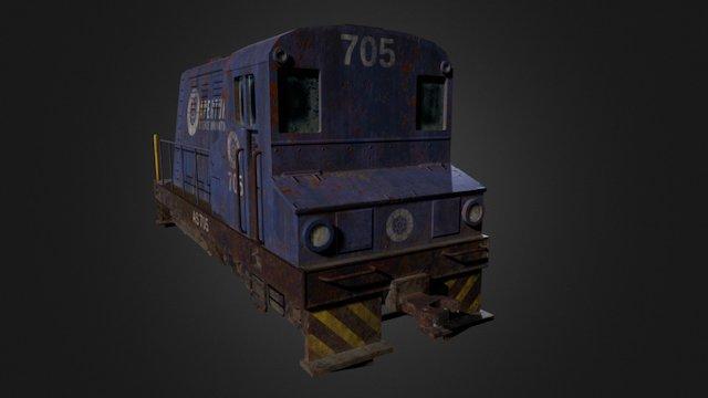 Aperture switching locomotive 3D Model