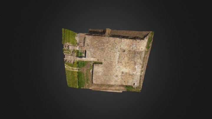 Port en bessin Castel 2 3D Model