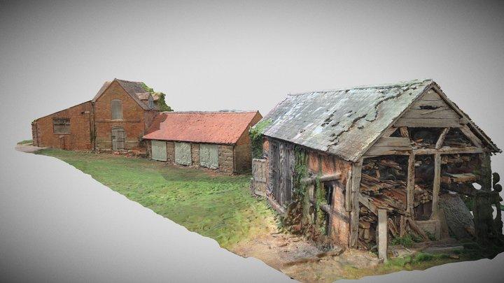 Farm buildings 3D Model