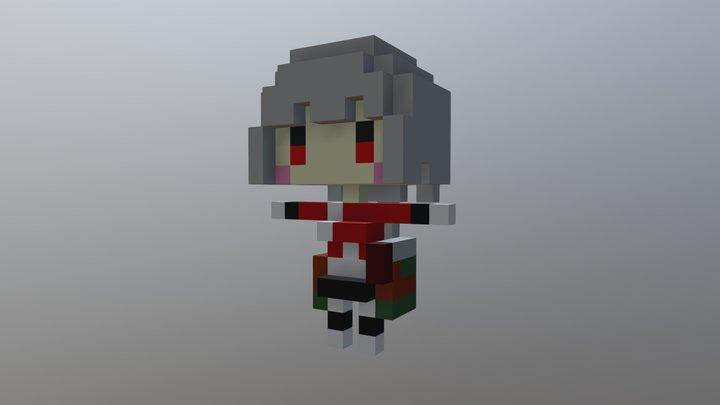hutyo 3D Model