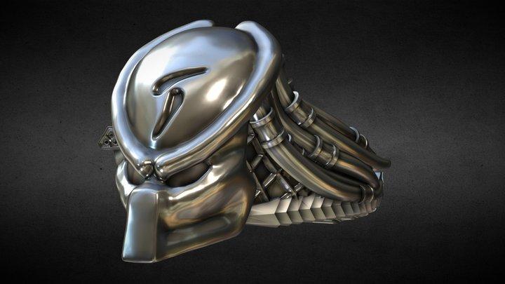 Predator Ring 3D Model