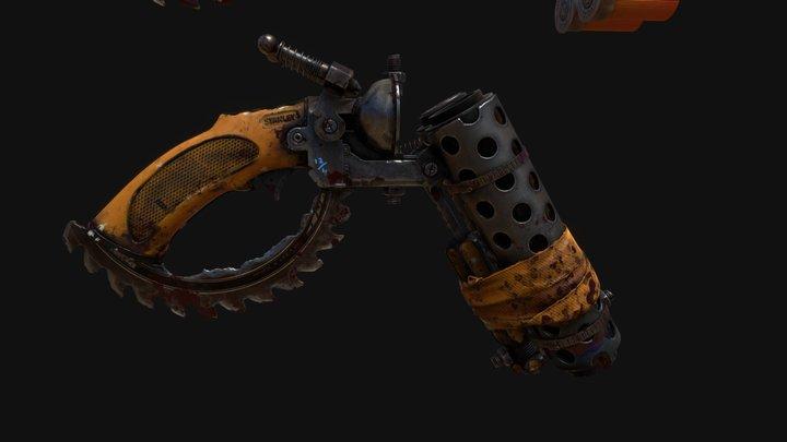 Tool Shotgun 3D Model
