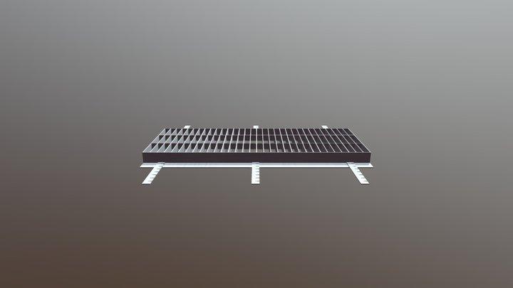 گریتینگ درپوش 3D Model