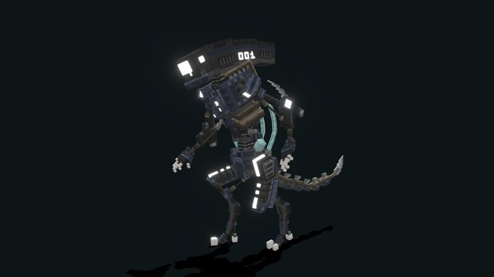 Mecha Alien Thing 3D Model