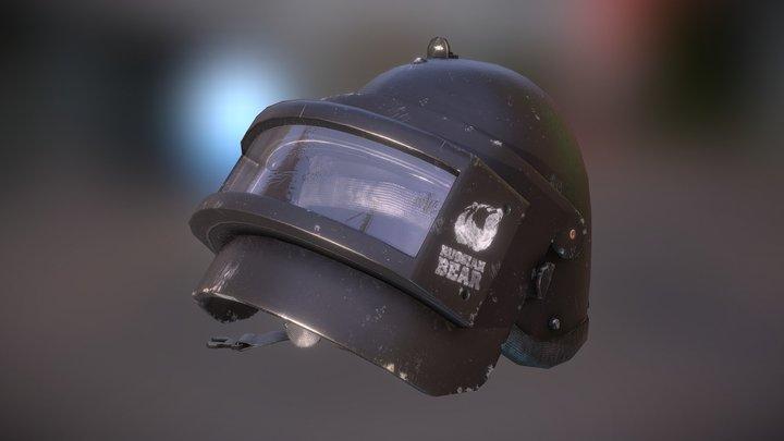 Combat helmet K6-3 3D Model