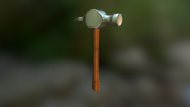 Hammer.unity 3D Model