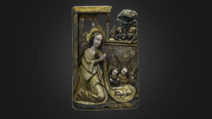 Adoration of the Child c.1510-1520 3D Model