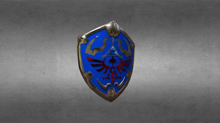 hyrule shield 3D Model