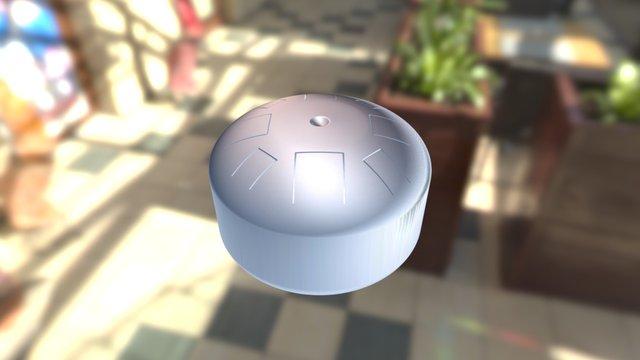 Tang Drum 3D Model