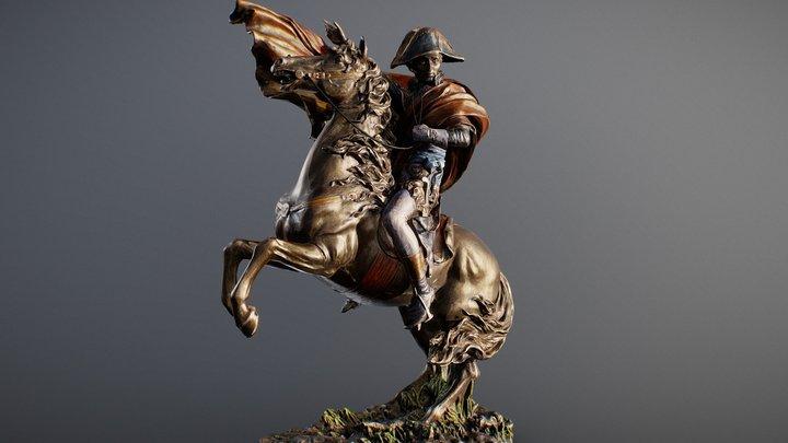 Napoleon Crossing the Alps 3D Model