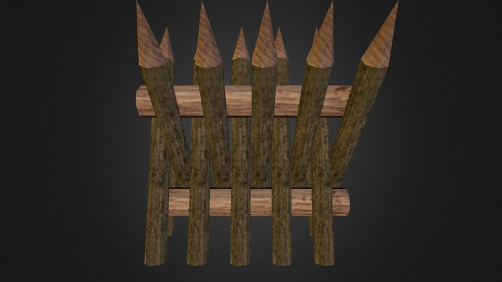 Barbarian Barricade 3D Model